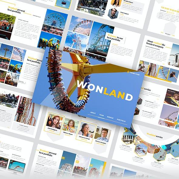 Wonland – Creative Business Googleslide Template