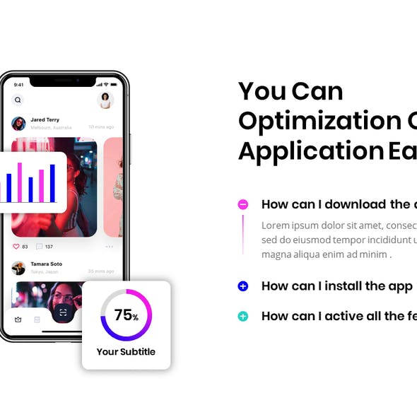 Mobile App Powerpoint Template 2020