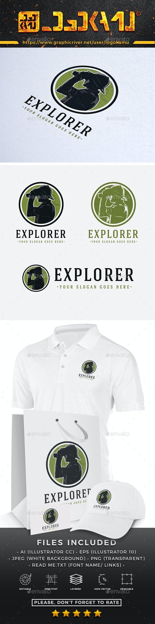 Explorer Logo - Humans Logo Templates