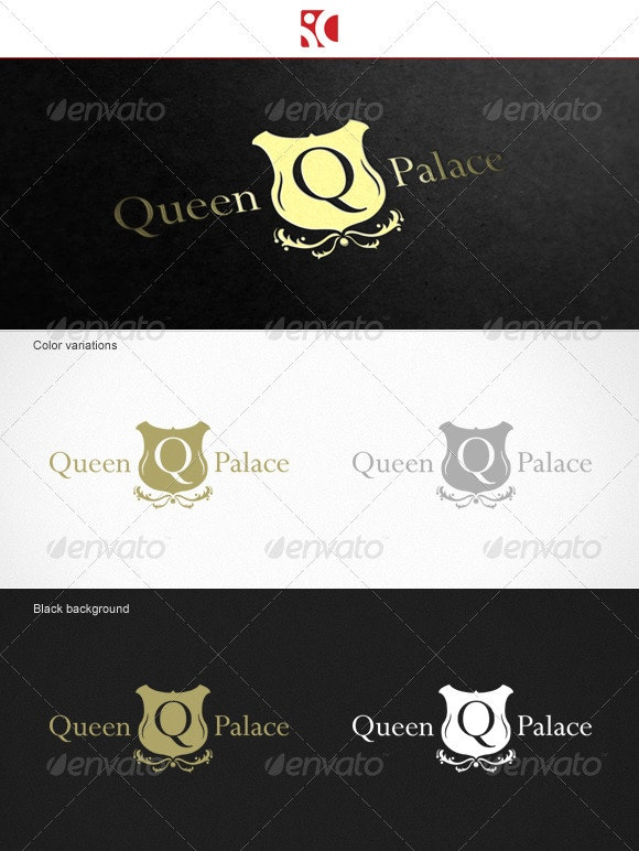 Queen Palace - Logo Template