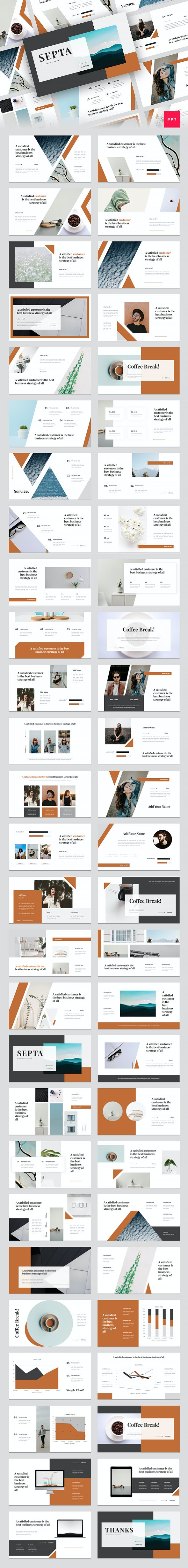 Septa - Clean PowerPoint Template - Creative PowerPoint Templates