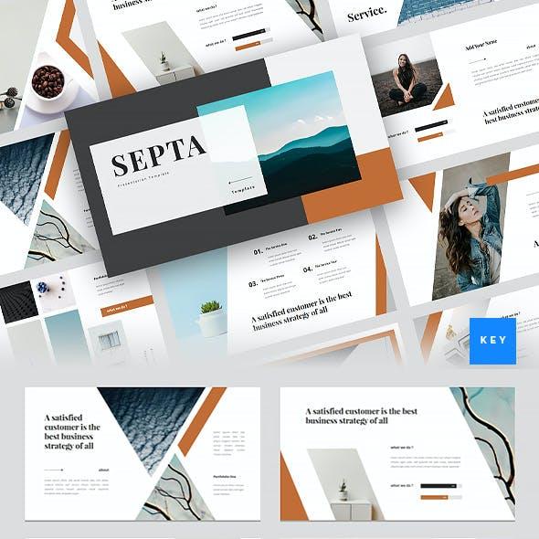Septa - Clean Keynote Template