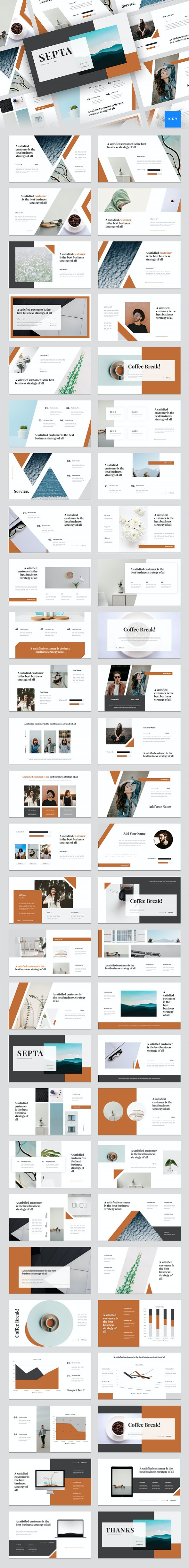 Septa - Clean Keynote Template - Creative Keynote Templates
