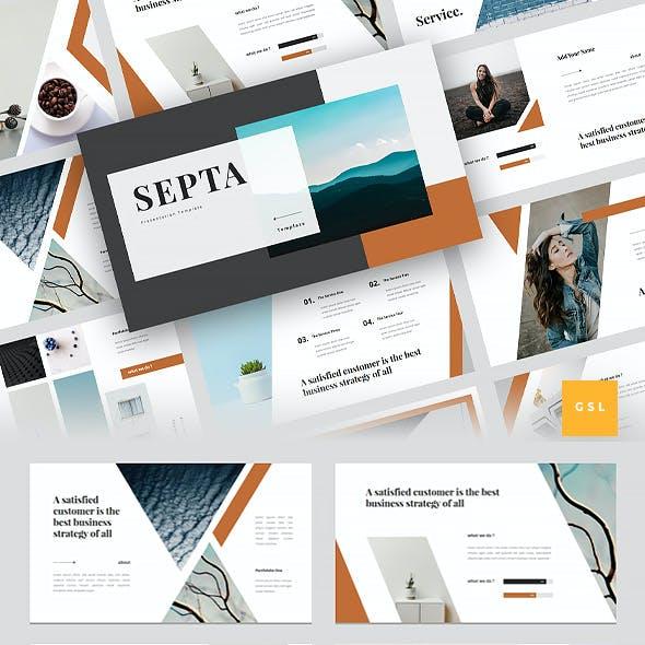 Septa - Clean Google Slides Template