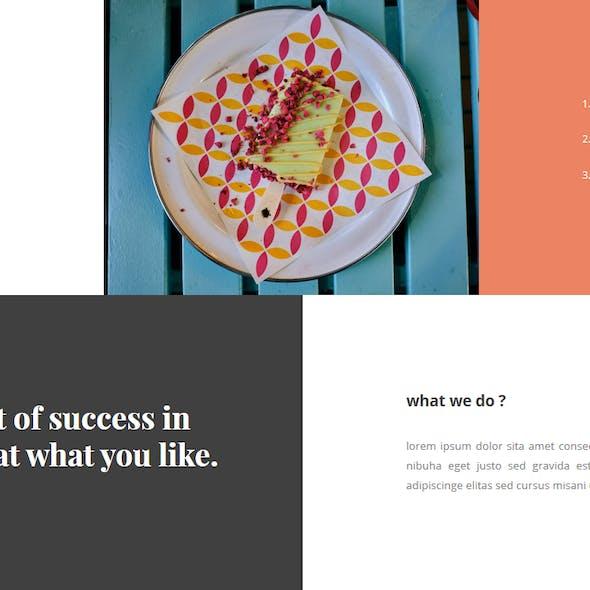 Gerai - Food PowerPoint Template