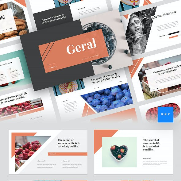 Gerai - Food Keynote Template