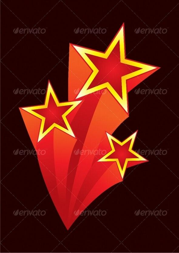 Stars explosion - Backgrounds Decorative