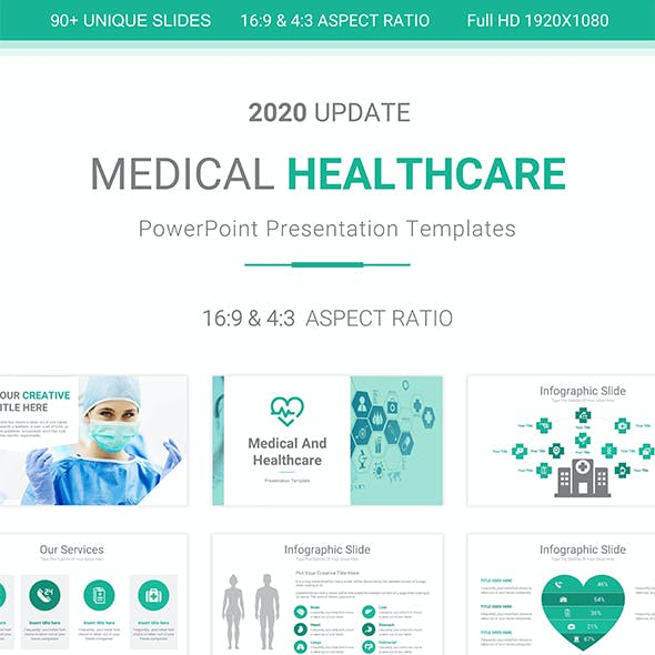 Medical And Healthcare PowerPoint Presentation Template