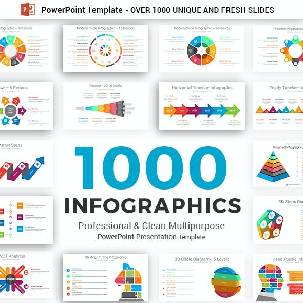 Infographics Pack PowerPoint Template