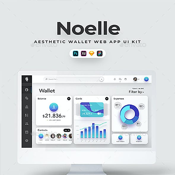 Noelle - Web Wallet & Dashboard App UI Kit