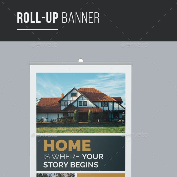 Real Estate Property Rollup Banner