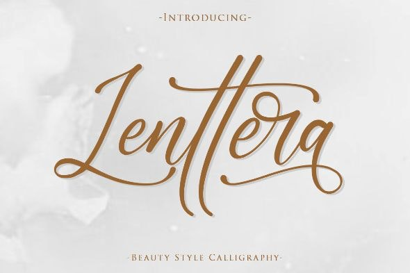 Lenttera | Beuty Style Calligraphy - Calligraphy Script