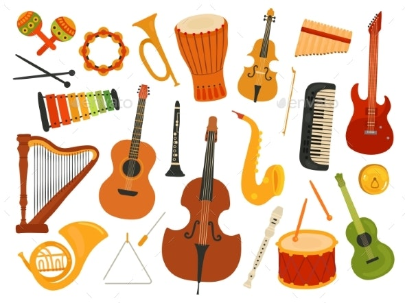 Musical Instruments - Man-made Objects Objects
