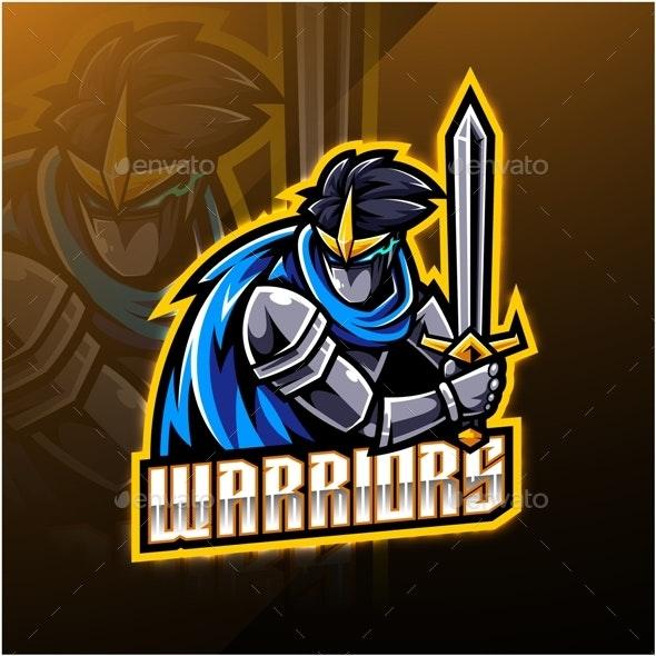 Warriors Sport - People Characters