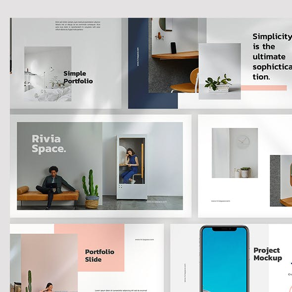 Rivia Powerpoint Template