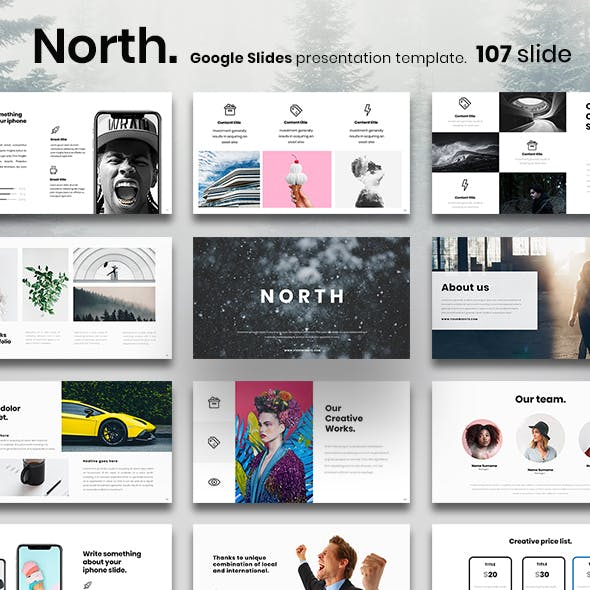 North Google Slides Presentation Template