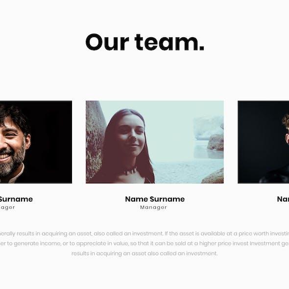 North Google Slides Presentation Template