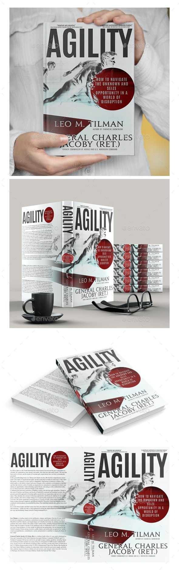 Book Cover - Agility - Miscellaneous Print Templates