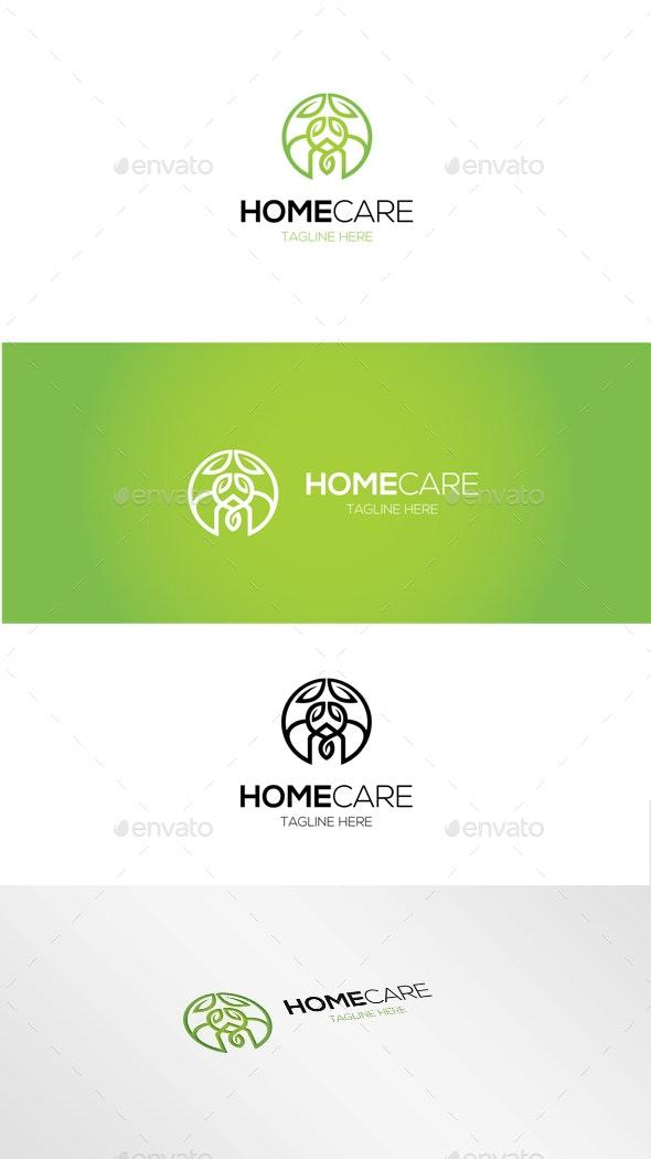 Home Care - Symbols Logo Templates
