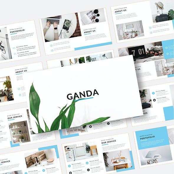 Ganda – Keynote Template