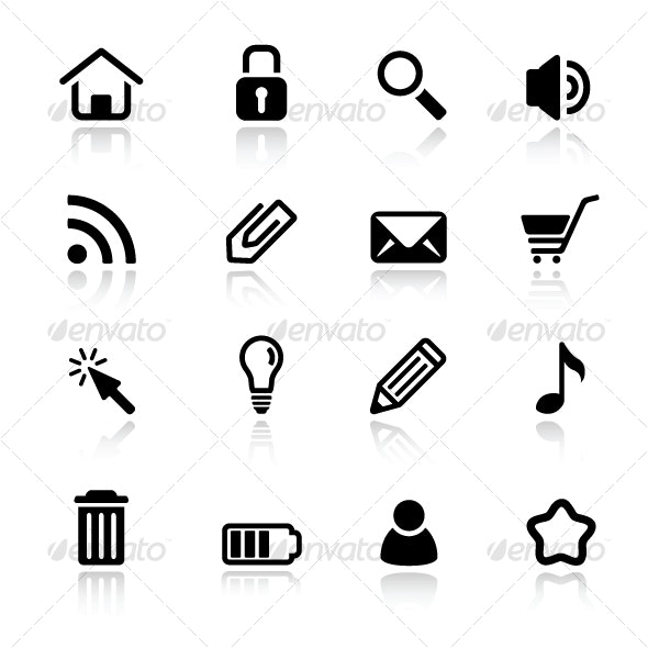 Simple web icons - Web Icons