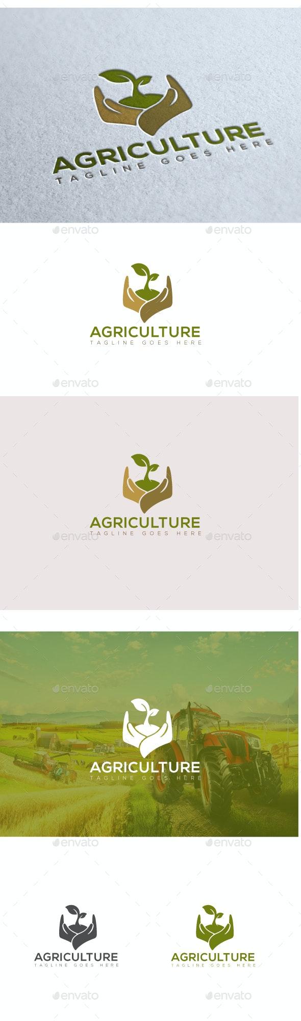 Agriculture Logo - Nature Logo Templates