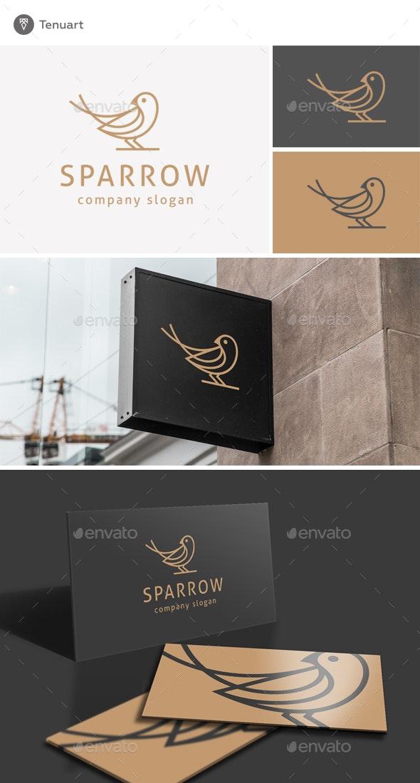 Sparrow Logo - Animals Logo Templates