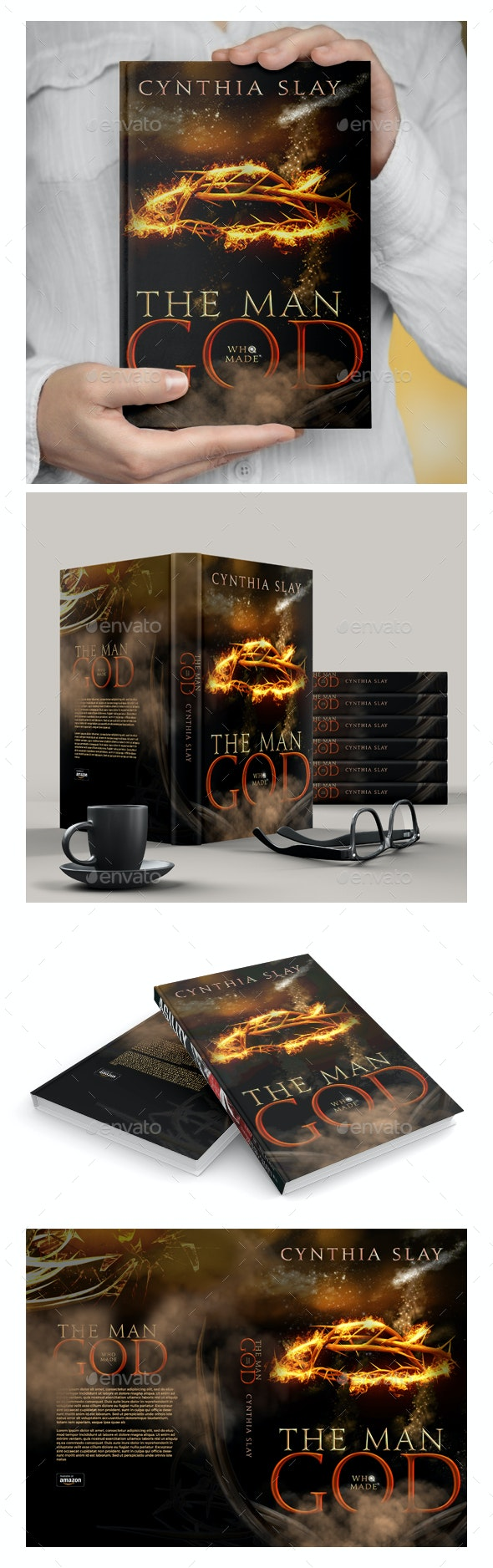 Book Cover - The Man Who - Miscellaneous Print Templates