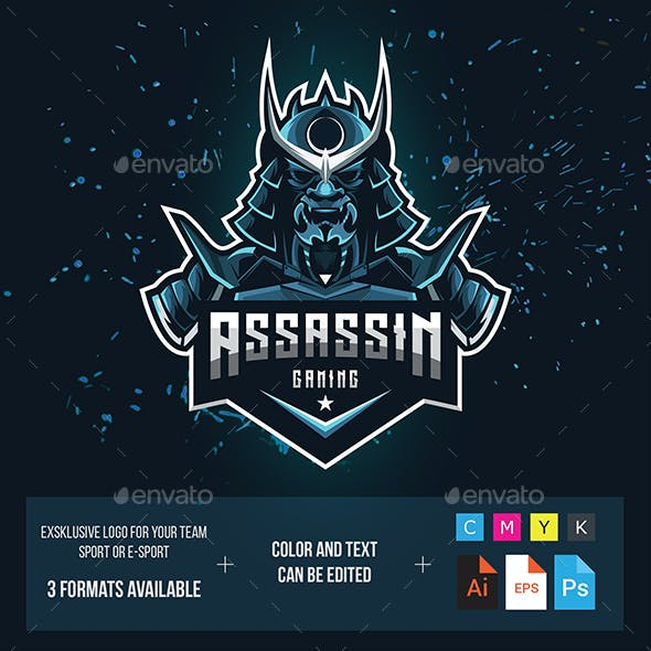 Assassin Gaming Logo for Your Team