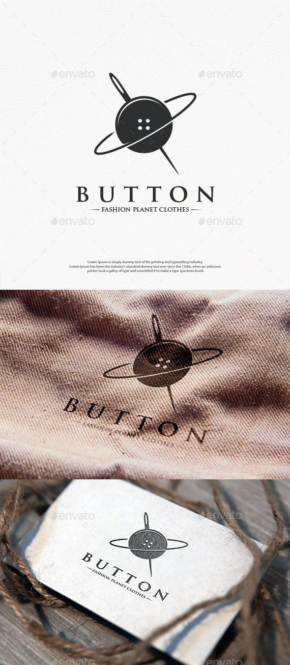 Button Planet Logo Template - Company Logo Templates