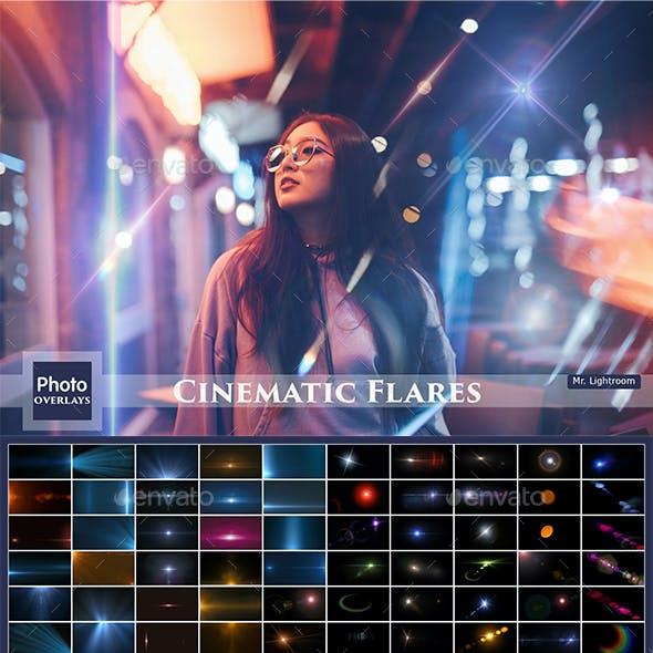 100 Cinematic Flares Overlays