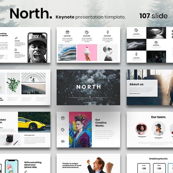 North Keynote Presentation Template