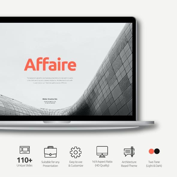 Affaire Creative Corporate Business Google Slides Template