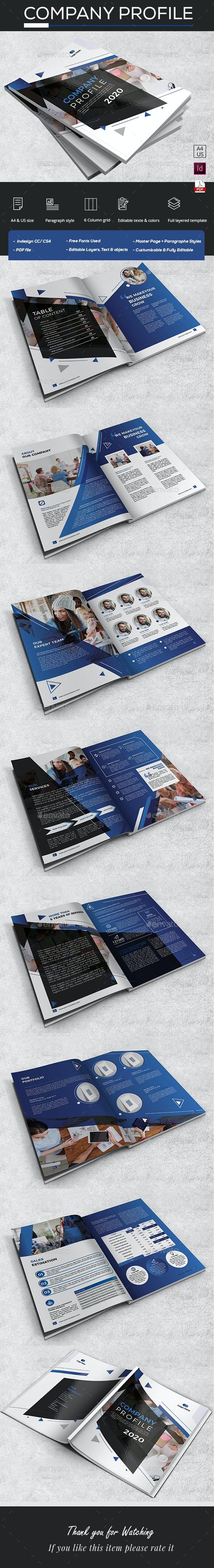 Modern Company Profile - Catalogs Brochures