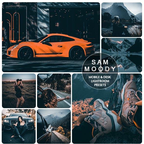 Moody Sam Presets for Mobile and Desk Lightroom