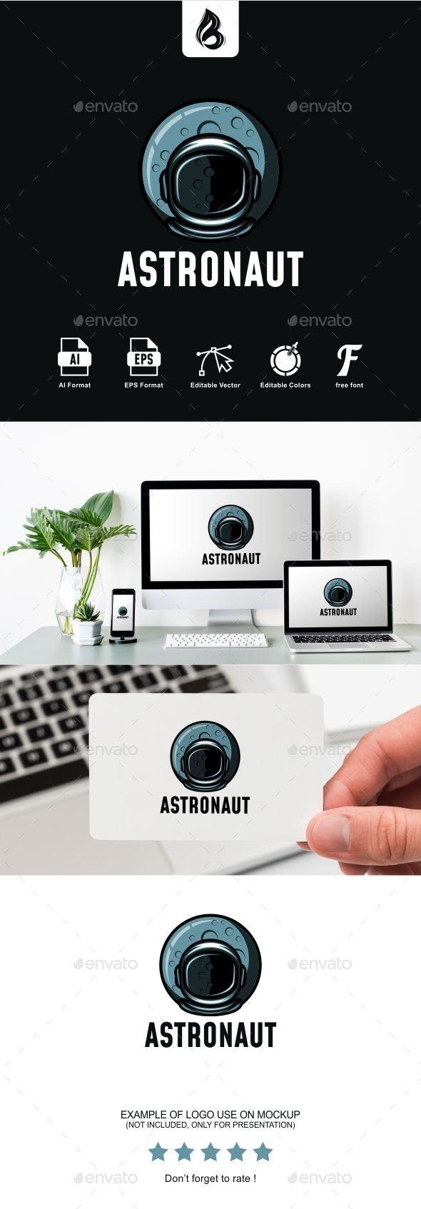 Astronaut Logo - Humans Logo Templates