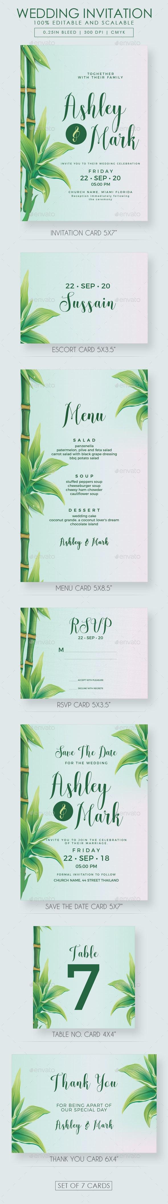 Tree Wedding Invitation Suite - Weddings Cards & Invites