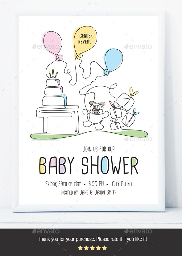 Baby Shower Flyer - Events Flyers