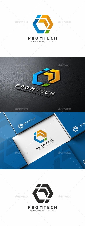 Hexagon Crypto Capital Logo - Logo Templates