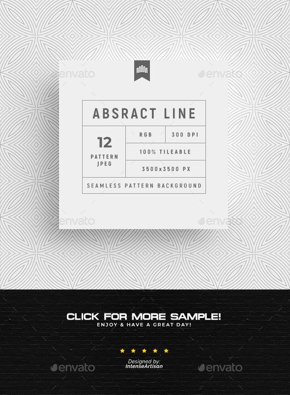 Abstract Line Seamless Pattern - Patterns Backgrounds