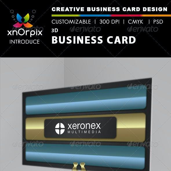 3D Business Card
