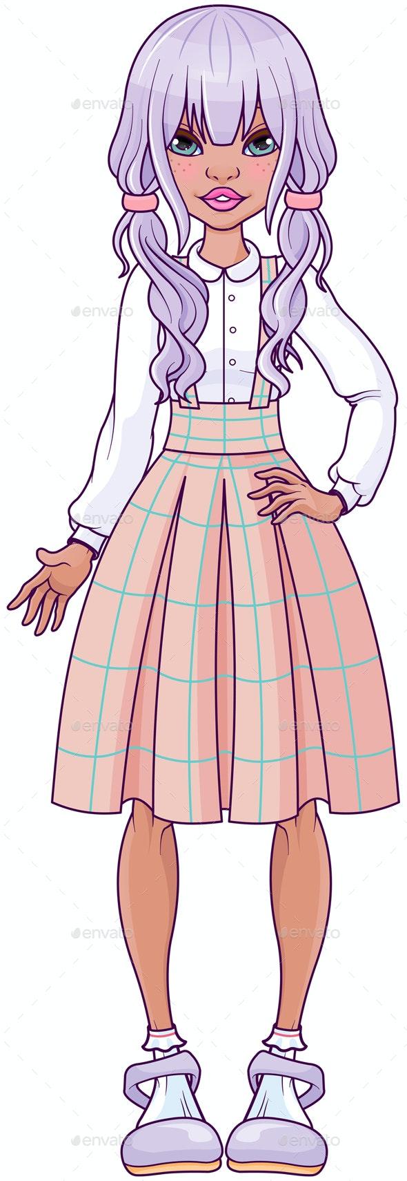 Modern Girl - People Characters