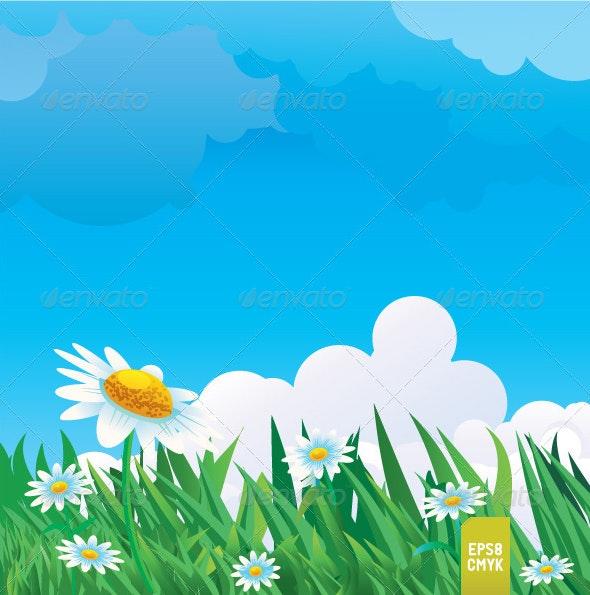 Summer Meadow - Nature Conceptual
