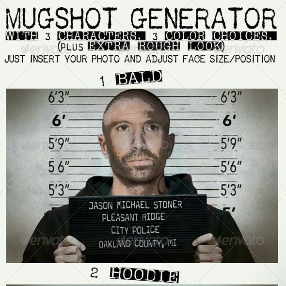 "7""x5"" Mugshot Generator, CMYK, 300dpi"