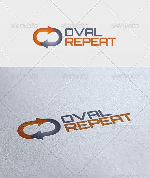 Oval Repeat Logo - Symbols Logo Templates