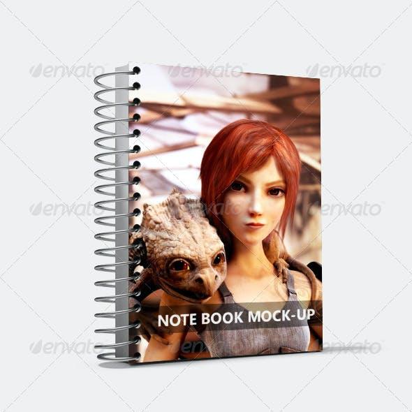 Spiral Notebook Mock-Up