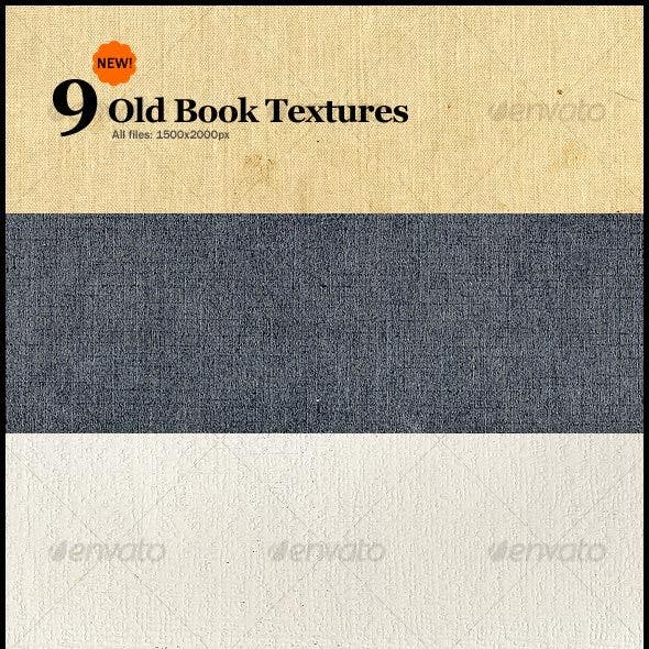 9 New Old Book Textures