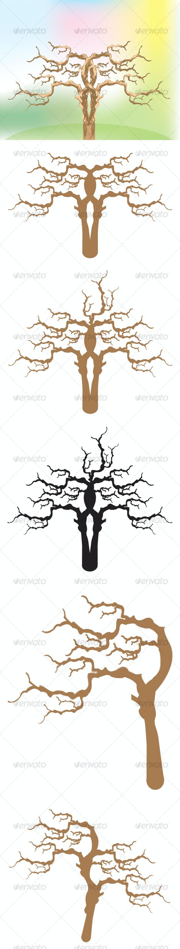 Vector trees - Nature Conceptual