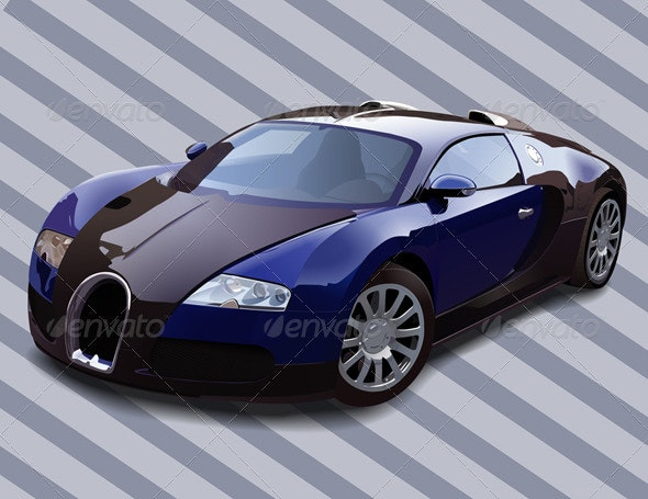 Bugatti Veyron HD - Man-made Objects Objects