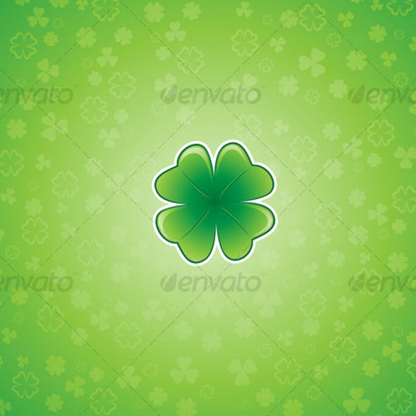 Shamrock Background 2